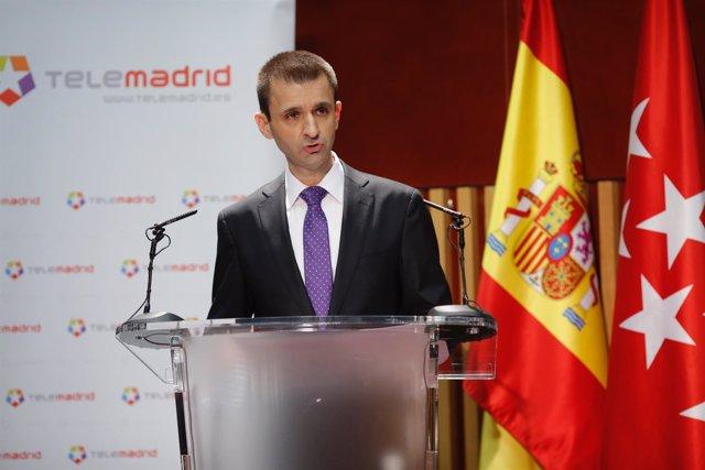 Director general de Telemadrid, José Pablo López