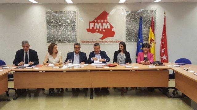Reunión de la Junta de Gobierno de la FMM
