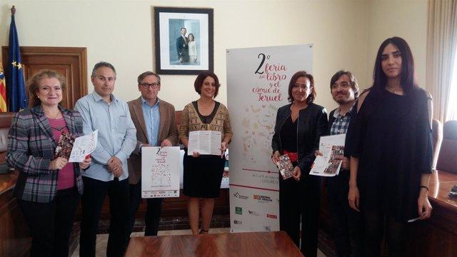 Mayte Pérez ha presentado la Feria del Libro de Teruel este miércoles