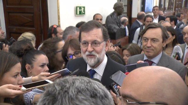 """Rajoy: """"Es un buen Presupuesto"""""""