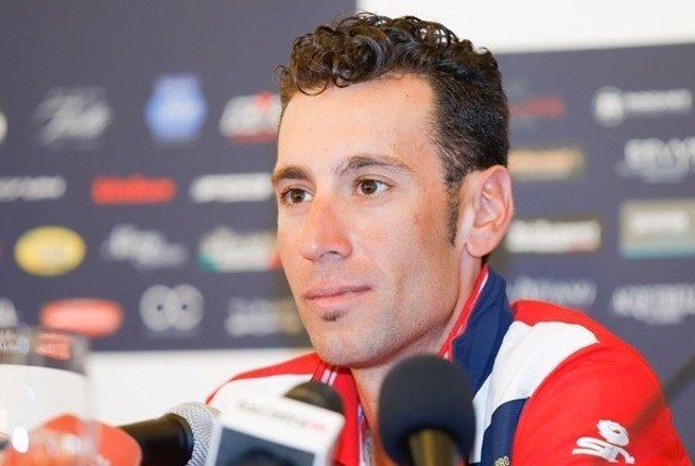 El ciclista italiano Vincenzo Nibali