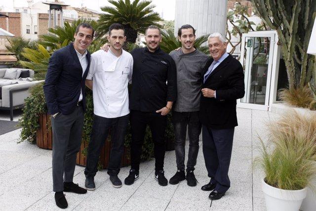 Joaquim Clos,Daniel Hernández,Aurelio Morales,Daniel del Val,Jordi Clos (Derby)