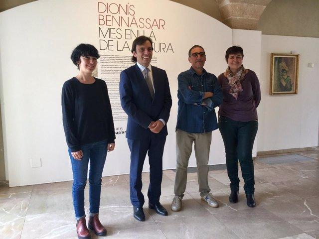Exposición 'Dionís Bennàssar, más allá de la pintura'