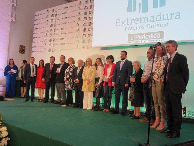 II Premios Turismo de El Periódico Extremadura