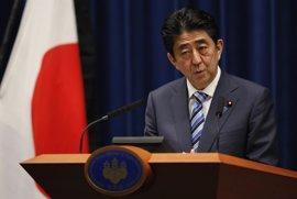 El primer ministro de Japón anuncia que quiere que la Constitución revisada entre en vigor en 2020