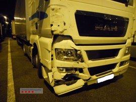 Detenido un camionero en Castellbisbal que superaba ocho veces el límite de alcohol