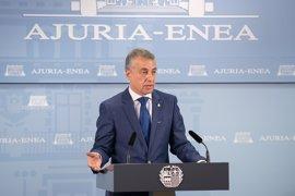 """Urkullu: """"El acuerdo sobre el Cupo refuerza la bilateralidad y autogobierno vasco"""""""