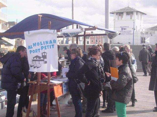 Campaña 'Al Molinar, port petit'