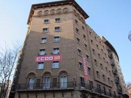 CC.OO. Aragón reclama la creación de empleo de calidad y la recuperación de los salarios