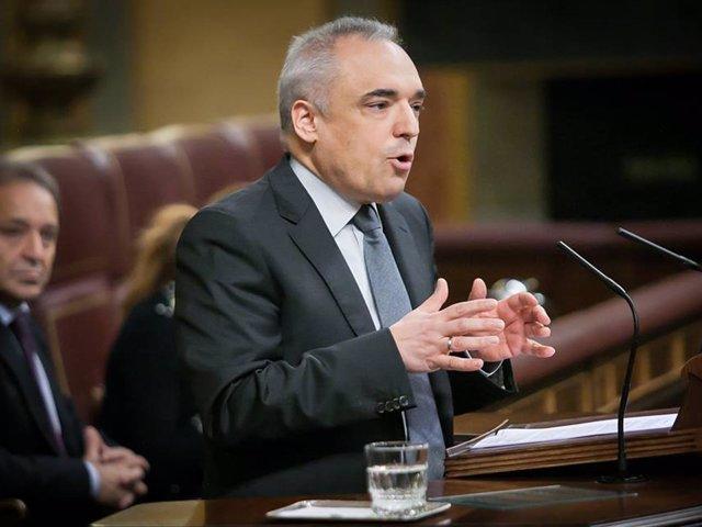 Rafael Simancas, diputado del PSOE