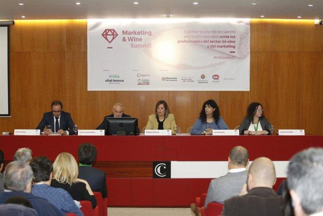 Valladolid. Marcos en la jornada Wine Summit