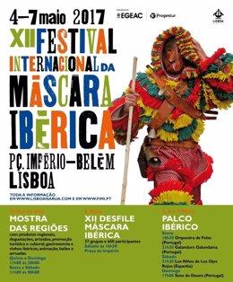 Cartel Festival Internacional de Máscara Ibérica