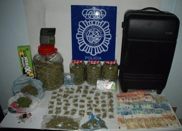 Drogas incautadas