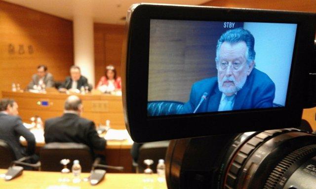 Alfonso Grau en las Corts Valencianes