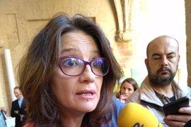"Oltra advierte a Montoro: ""A lo mejor la borrachera del gasto era Castor"""