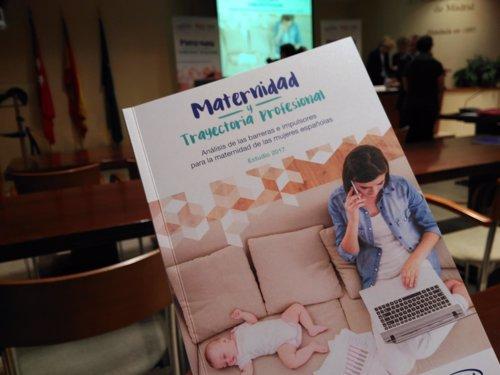 Presentación estudio 'Maternidad y carrera profesional'