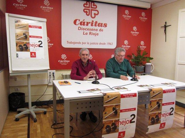 Presentación campaña Cáritas X solidaria