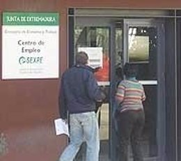 Datos paro, Extremadura