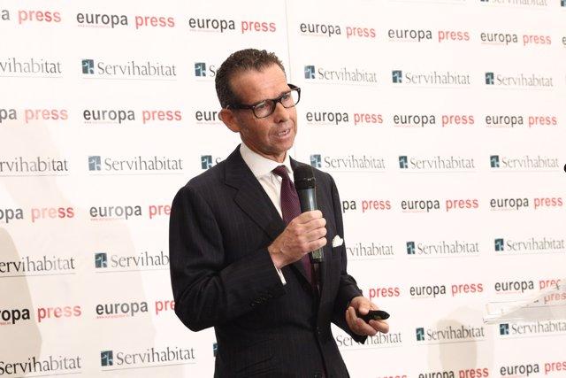 Sebastián Canadell, Presidente de B4Motion, S.L. En un encuentro con Europa Pres