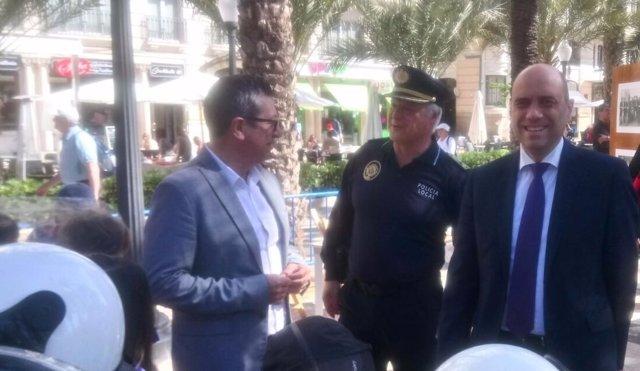 Echávarri, este jueves en el acto por el 170 aniversario de la Policía Local