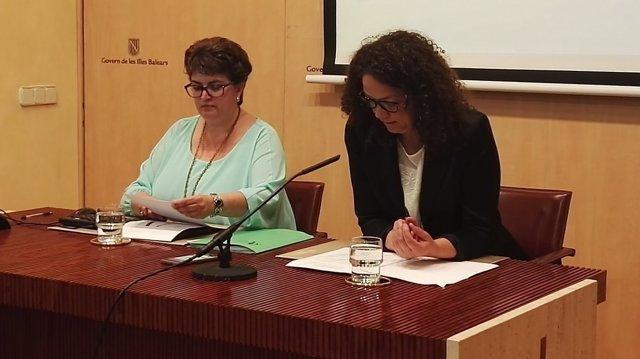 Catalina Cladera y Maria Antònia Truyols