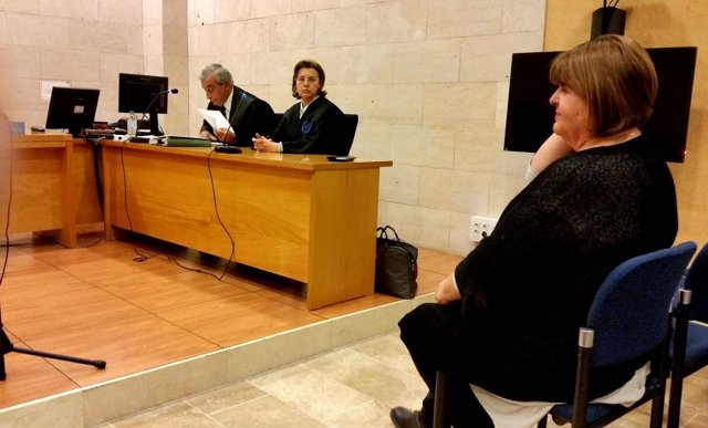 Xelo Huertas en juicio