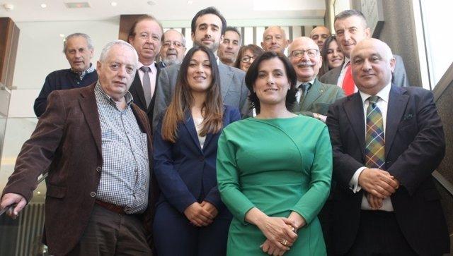 Gema Igual participa en un encuentro del Club de Prensa Pick