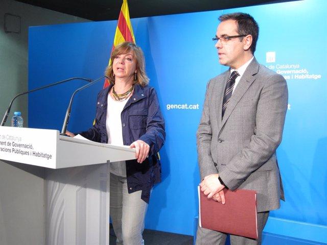 Meritxell Borràs y Carles Sala