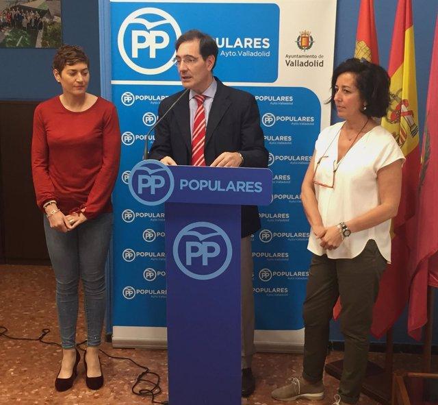 Concejales del Partido Popular en el Ayuntamiento de Valladolid