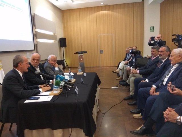 FORO AEHCOS ALCALDE TREN LITORAL ROTARY CALLEJON TORRE BENZO ALBA