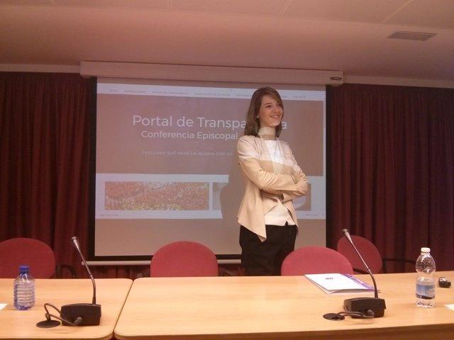 Directora de la Oficina de Transparencia, Ester Martín