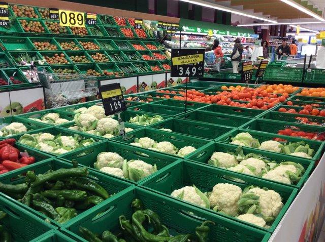Precios, IPC, inflación, consumo, verduras, hortalizas, compra, compras