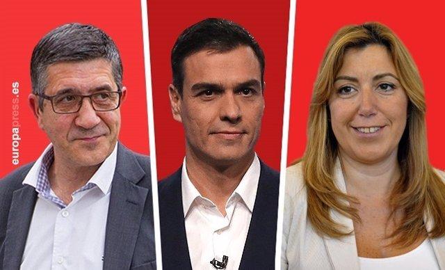 Candidatos PSOE