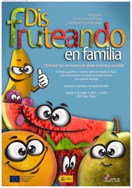 Cartel anunciador de 'Disfruteando en familia'