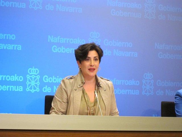María Solana, consejera de Educación del Gobierno de Navarra