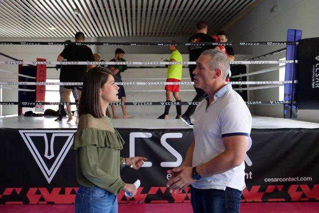 El Curso de Boxeo Técnico de Javier Castillejo será en el Pabellón Moisés Ruiz.