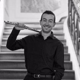 El flautista Alberto Acuña Almela