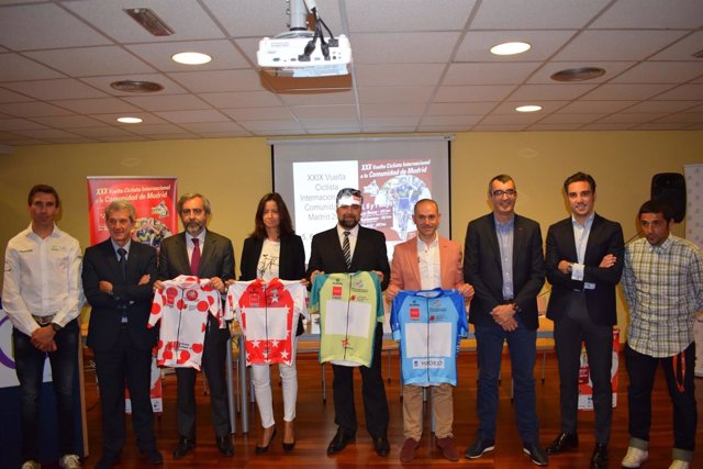 Presentación de la Vuelta a la Comunidad de Madrid