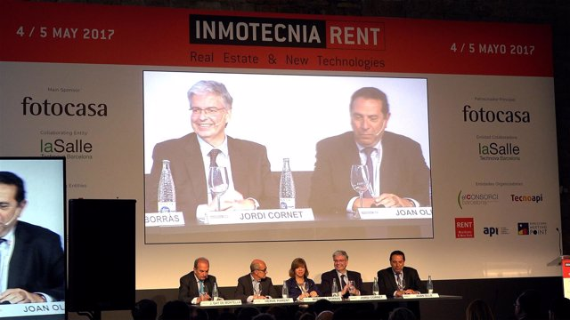 Inauguración de Inmotecnia Rent en las Drassanes de Barcelona