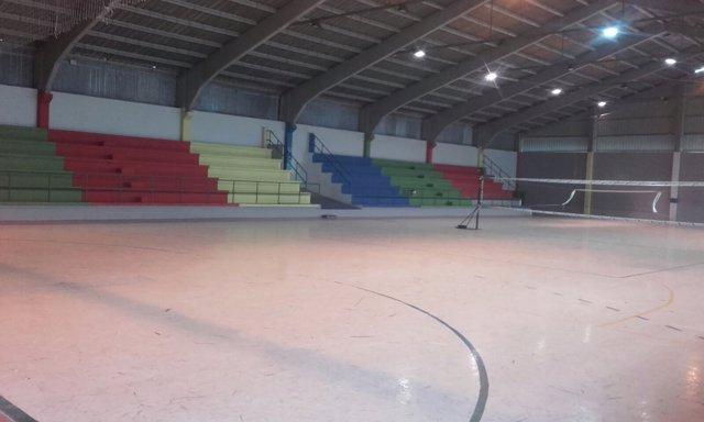 Pabellón deportivo de San Juan.