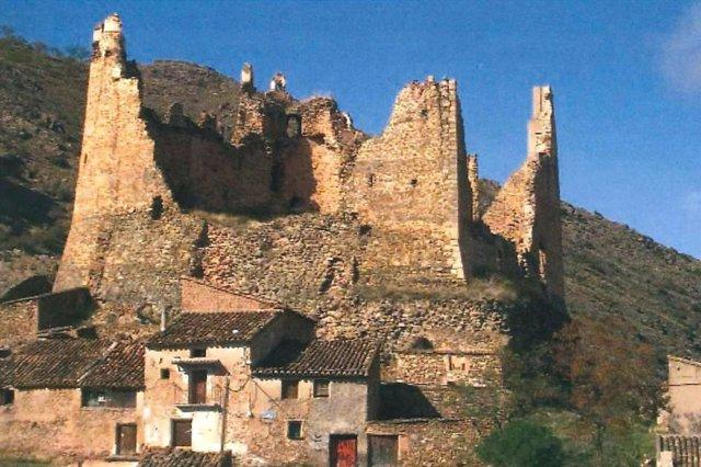 Castillo de Jarque (Zaragoza)