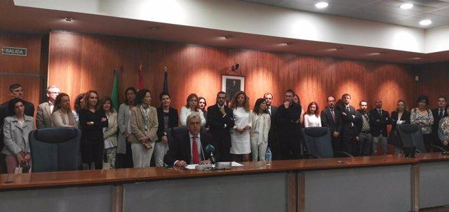 Jueces de Primera Instancia de Málaga y juez decano
