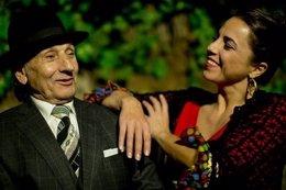 Carmen gonzález con Carrete bienal de flamenco málaga bailaores