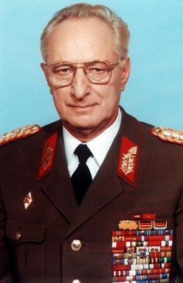 Heinz Kessler, último ministro de Defensa de la RDA