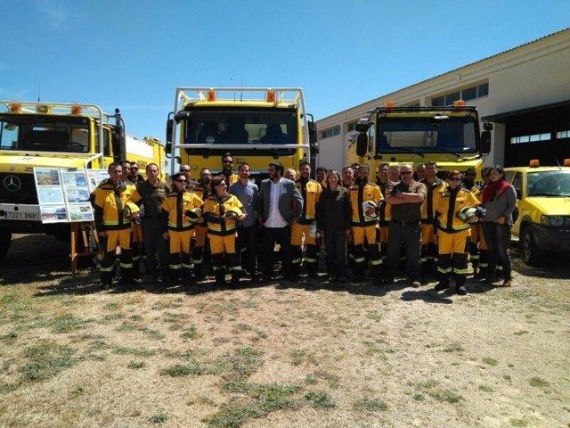 Vidal presenta los medios de la campaña contra incendios forestales