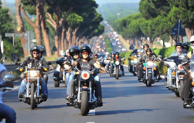 Motos hacia el Gran Premio de Jerez