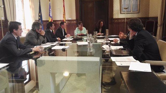 Grupo trabajo Baleares y Cataluña sobre fiscalidad