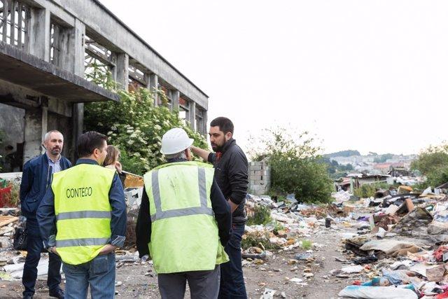 Desmantelamiento del poblado chabolista de A Pasaxe