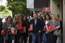 Pedro Sánchez logra casi 9.000 avales en Andalucía y más de 8.000 en Comunidad Valenciana, según su equipo