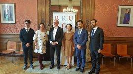 Turismo.- La alcaldesa presenta en Brujas la oferta turística del Grupo de Ciudades Patrimonio de la Humanidad